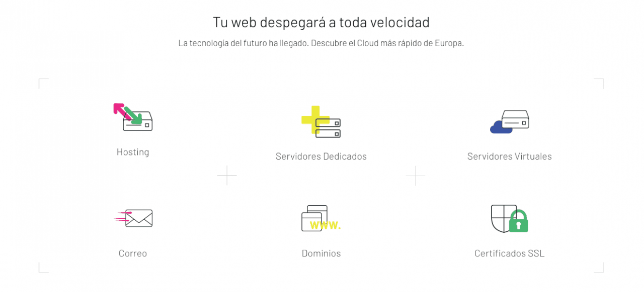 cloud hosting rápido