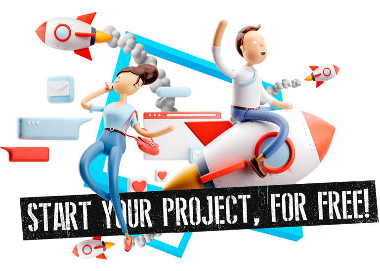 We help you to start your project